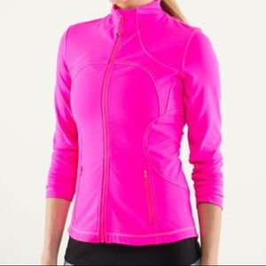 Lululemon Athletica Raspberry Glo Forme Jacket
